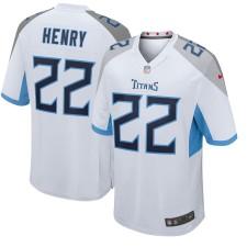 Derrick Henry Tennessee Titans Nike Nuevo 2018 Juego Camisetas - Blanco