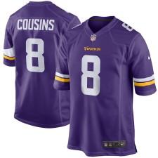 Kirk Cousins Minnesota Vikings Nike Juego Camisetas - Púrpura