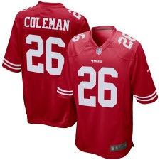 Tevin Coleman San Francisco 49ers Nike Juego Camisetas - Scarlet