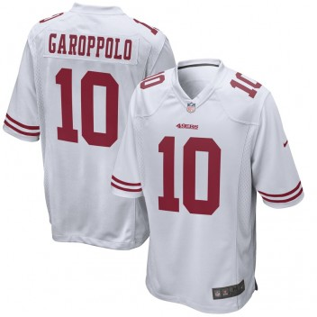 Jimmy Garoppolo San Francisco 49ers Nike Juego Camisetas - Blanco