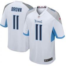 Hombres Tennessee Titans A.J. Brown Blanco Limited Vapor Untouchable Camisetas por Nike