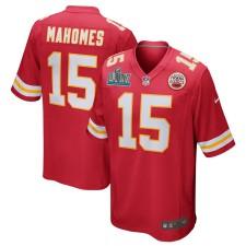 Patrick Mahomes Kansas City Chiefs Nike Super Bowl LIV Bound Juego Camisetas - Rojo