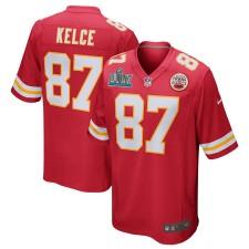 Travis Kelce Kansas City Chiefs Nike Super Bowl LIV Bound Juego Camisetas - Rojo