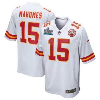 Patrick Mahomes Kansas City Chiefs Nike Super Bowl LIV Bound Juego Camisetas - Blanco