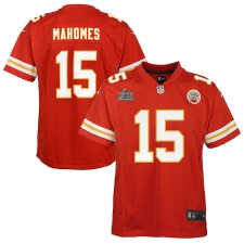 Patrick Mahomes Kansas City Chiefs Nike Niños Super Bowl LIV Bound Juego Camisetas - Rojo