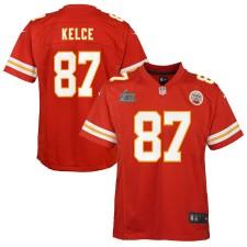 Travis Kelce Kansas City Chiefs Nike Youth Super Bowl LIV Bound Juego Camisetas - Rojo