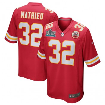Tyrann Mathieu Kansas City Chiefs Nike Super Bowl LIV Bound Juego Camisetas - Rojo