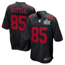 George Kittle San Francisco 49ers Nike Super Bowl LIV Bound Juego Event Camisetas - Negro