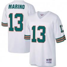 Hombres Miami Dolphins Dan Marino Mitchell & Ness Blanco Legacy Réplica Camisetas