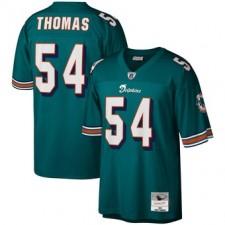 Zach Thomas Miami Dolphins Mitchell & Ness Legacy Réplica Camisetas - Aqua