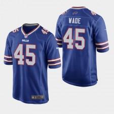 Hombres Buffalo Bills Christian Wade Juego Camisetas - Real