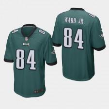 Hombres Philadelphia Eagles Greg Ward Jr. Juego Camisetas - Medianoche Verde