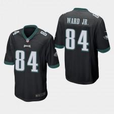 Hombres Philadelphia Eagles Greg Ward Jr. Juego Camisetas - Negro