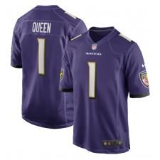 Patrick Queen Baltimore Ravens Nike 2020 NFL Draft First Round Pick Juego Camisetas - Púrpura