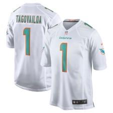 Tua Tagovailoa Miami Dolphins Nike 2020 NFL Draft First Round Pick Juego Camisetas - Blanco