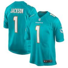 Austin Jackson Miami Dolphins Nike 2020 NFL Draft First Round Pick Juego Camisetas - Aqua