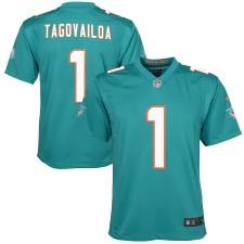 Tua Tagovailoa Miami Dolphins Nike Youth 2020 NFL Draft First Round Pick Juego Camisetas - Aqua