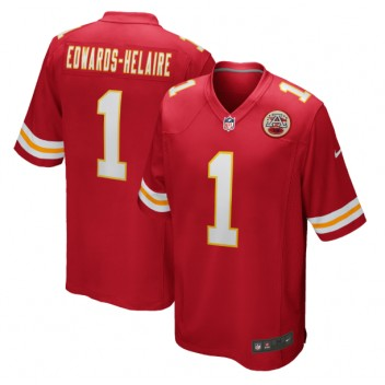 Clyde Edwards-Helaire Kansas City Chiefs Nike 2020 NFL Draft First Round Pick Juego Camisetas - Rojo