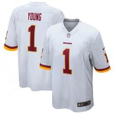 Chase Young Washington Redskins Nike 2020 NFL Draft First Round Pick Juego Camisetas - Blanco