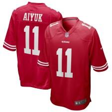 Brandon Aiyuk San Francisco 49ers Nike 2020 NFL Draft Primera Ronda Pick Juego Camisetas - Scarlet