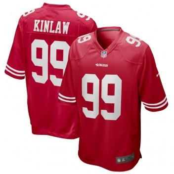 Javon Kinlaw San Francisco 49ers Nike 2020 NFL Draft Primera Ronda Pick Juego Camisetas - Scarlet