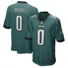 Jalen Hurts Philadelphia Eagles Nike 2020 NFL Draft Pick Juego Camisetas – Verde medianoche