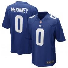 Xavier McKinney New York Giants Nike 2020 NFL Draft Pick Juego Camisetas – Azul