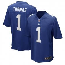 Andrew Thomas New York Giants Nike 2020 NFL Draft First Round Pick Juego Camisetas - Real