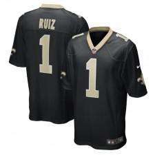 Cesar Ruiz New Orleans Saints Nike 2020 NFL Draft First Round Pick Juego Camisetas - Negro