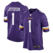 Justin Jefferson Minnesota Vikings Nike 2020 NFL Draft First Round Pick Juego Camisetas - Púrpura