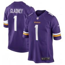 Jeff Gladney Minnesota Vikings Nike 2020 NFL Draft First Round Pick Juego Camisetas - Púrpura