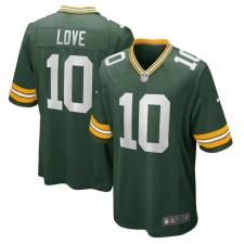Jordan Love Green Bay Packers Nike 2020 NFL Draft First Round Pick Juego Camisetas - Verde