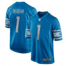 Jeff Okudah Detroit Lions Nike 2020 NFL Draft First Round Pick Juego Camisetas - Azul
