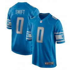 D'Andre Swift Detroit Lions 2020 NFL Draft Pick Juego Camisetas – Azul