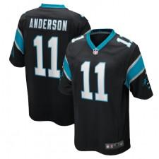 Robby Anderson Carolina Panthers Nike Juego Jugador Camisetas – Negro