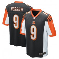 Joe Burrow Cincinnati Bengals Nike 2020 NFL Draft First Round Pick Juego Camisetas - Negro
