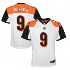 Joe Burrow Cincinnati Bengals Nike Youth 2020 NFL Draft First Round Pick Juego Camisetas - Blanco