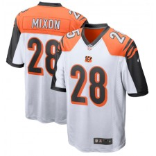 Joe Mixon Cincinnati Bengals Nike Player Juego Camisetas - Blanco