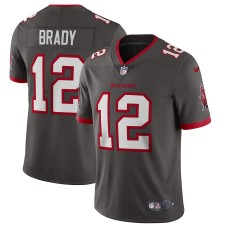 Tom Brady Tampa Bay Buccaneers Nike Alternate Vapor Limited Camisetas - Estaño
