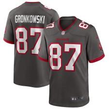 Rob Gronkowski Tampa Bay Buccaneers Nike Alternate Juego Camiseta - Estaño
