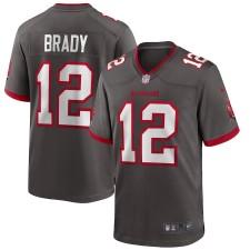 Tom Brady Tampa Bay Buccaneers Nike Alternate Juego Camiseta - Estaño
