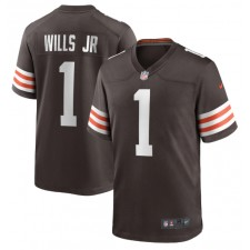 Jedrick Wills Jr. Cleveland Browns Nike 2020 NFL Draft First Round Pick Juego Camisetas - Marrón