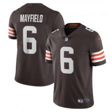 Baker Mayfield Cleveland Browns Nike Vapor Limited Jugador Camisetas – Marrón