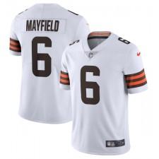 Baker Mayfield Cleveland Browns Nike Vapor Limited Camisetas – Blanco