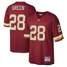 Darrell Green Washington Redskins Mitchell & Ness Legado Réplica Camisetas - Borgoña