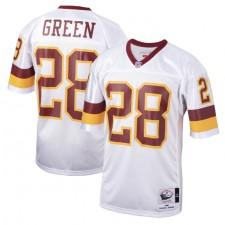 Darrell Green Washington Redskins Mitchell & Ness 1991 Auténtico Throwback Jugador Retirado Camisetas - Blanco