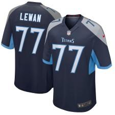 Taylor Lewan Tennessee Titans Nike Jugador Juego Camisetas - Marina