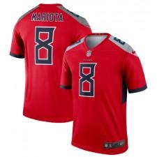 Marcus Mariota Tennessee Titans Nike Inverted Legend Camisetas - Rojo