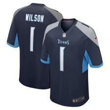 Isaiah Wilson Tennessee Titans Nike 2020 NFL Draft First Round Pick Juego Camisetas - Marina