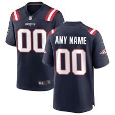 Nike New England Patriots Personalizado Juego Camisetas - Marina